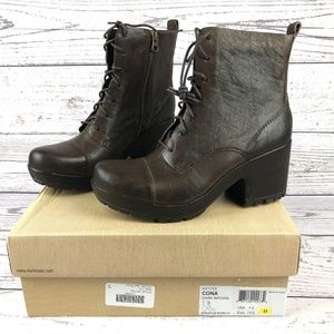 NIB Kork-Ease Cora Dark Brown Boots Sz 7.5